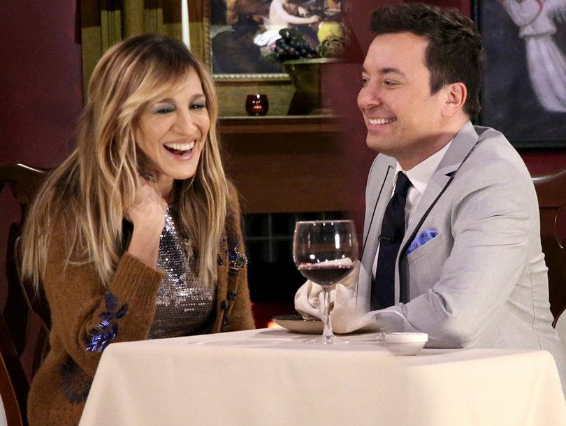 Sarah Jessica Parker Enjoys Romantic, Ridiculous Mad Libs Date with Jimmy Fallon