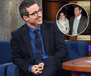 John Oliver Advises Meghan Markle Not to Marry Into Royal Family