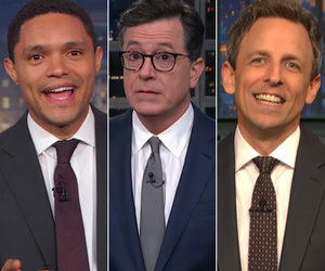 Late-Night Stars Dump on 'Dictator' Trump's Military Parade