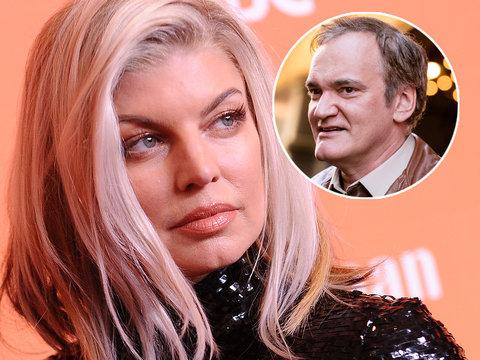 Fergie Clarifies Tarantino Bite Was Simply 'A Little Bit of Fun'