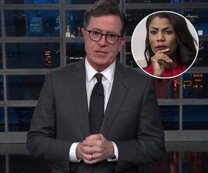 Colbert Ridicules Omarosa for Bashing Trump on 'Big Brother'