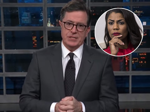 Colbert Ridicules Omarosa for Bashing Trump on 'Big Brother'