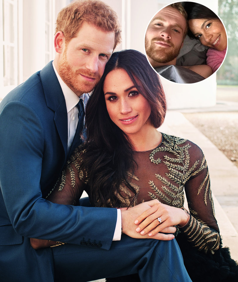 Stars of Lifetime's 'A Royal Romance' Share First Photo as Prince Harry and…
