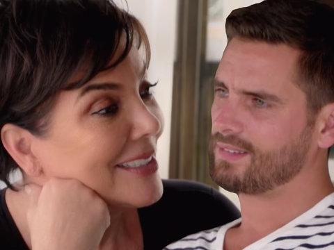 Awkward! Kris Jenner Grills Scott Disick on Dating 19-Year-Old
