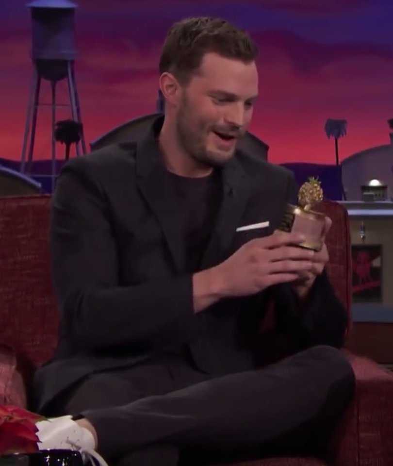 Conan Presents Jamie Dornan With Worst Actor Award for 'Fifty Shades'