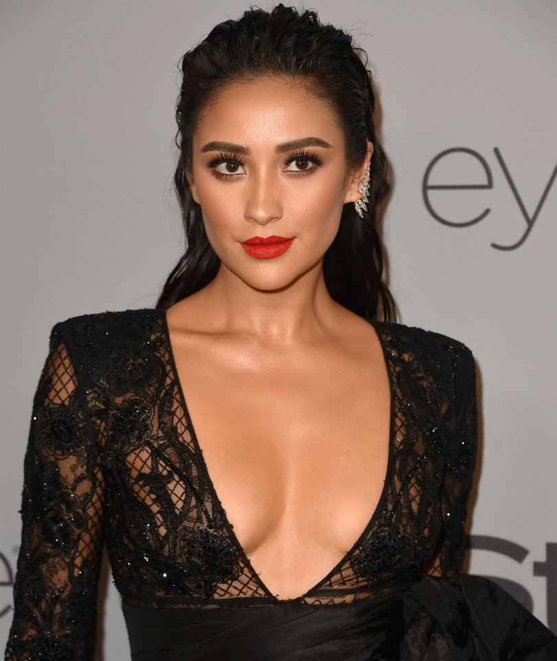 Shay Mitchell Streaks Topless Through LA and Shares the Video
