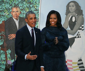 Barack and Michelle Obama's Official Portraits Light Up Twitter