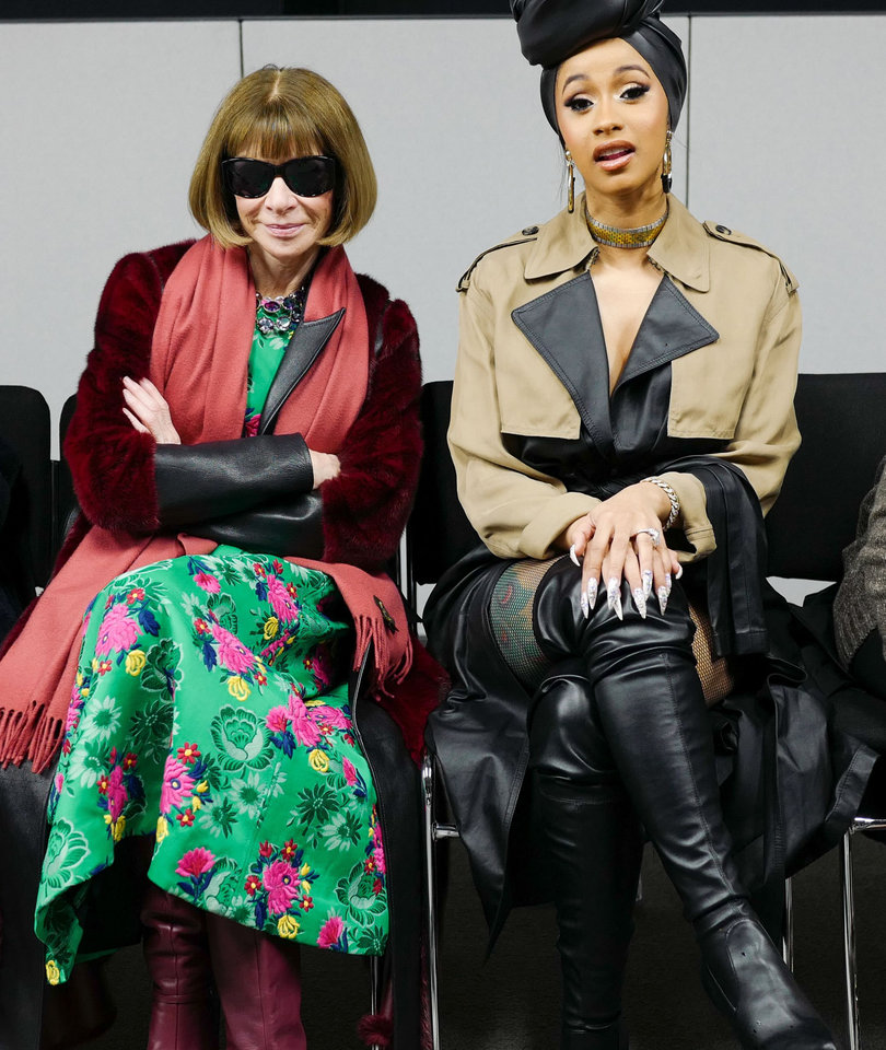 Proof That Cardi B Was Made for New York Fashion Week