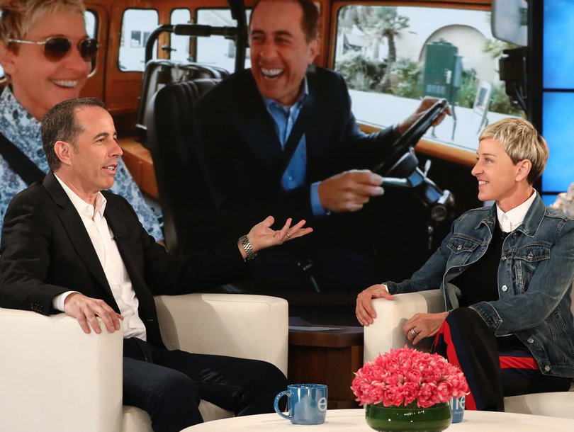 'Not Funny': Ellen DeGeneres Pranks Jerry Seinfeld on 'Comedians in Cars Getting Coffee'