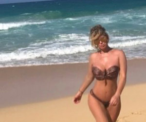 Kim Zolciak's Daughter Has Questions About Mom's Topless Beach Selfie