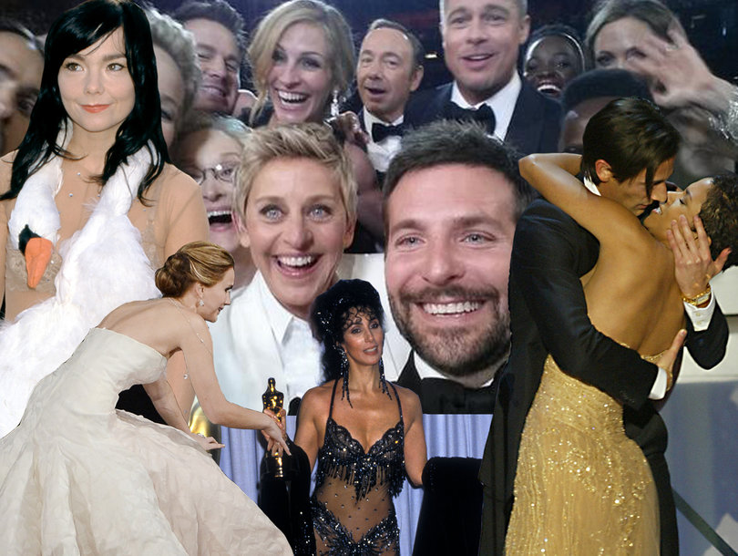 33 Most Bizarre Oscars Moments of All Time: J.Law Stumbled, Franco Snoozed, Halle Berry Assaulted