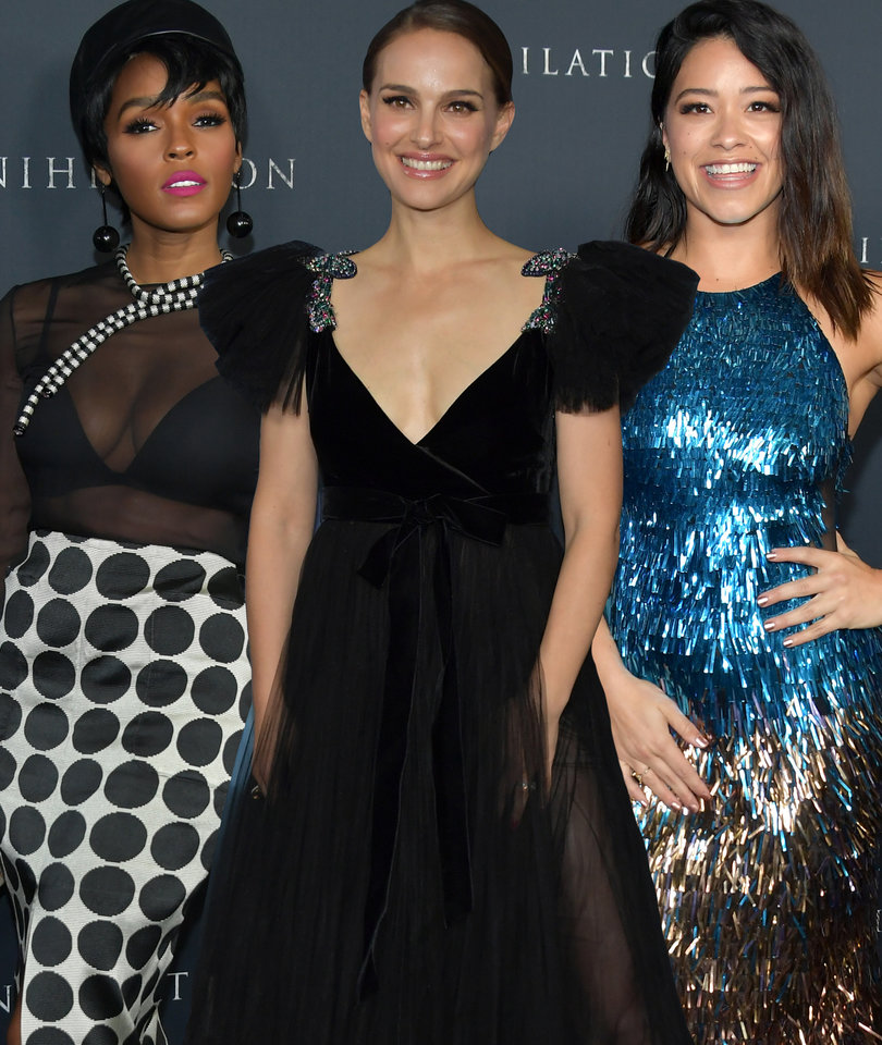 The Ladies Brought Their A-Game to the 'Annihilation' Premiere