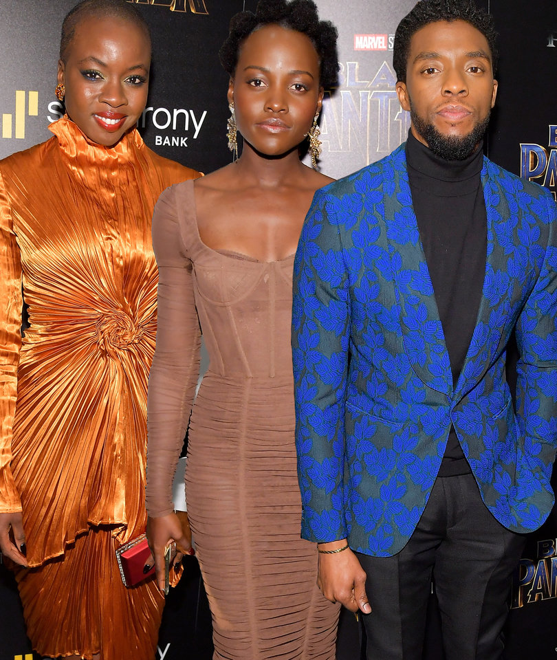'Black Panther' Cast Jets to NYC for East Coast Premiere
