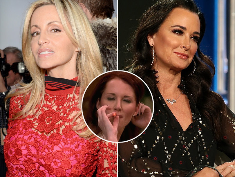'RHOBH' Dinner Party from Hell Psychic Puts Camille Grammer on Blast