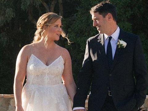 Inside Amy Schumer's Secret Wedding to Chris Fischer
