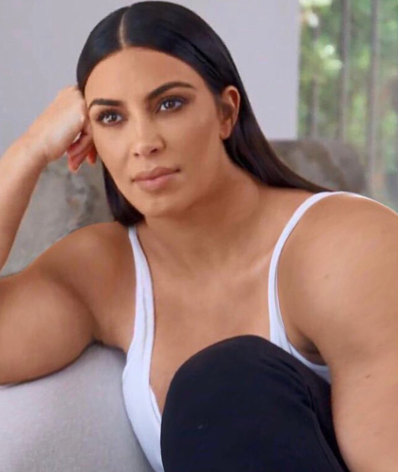 'Gym Kardashian' Pumps Up Twitter as Pic of Buff Reality Star Goes Viral