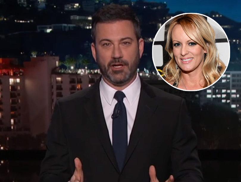 Jimmy Kimmel Roasts 'World's Dumbest' Lawyer Michael Cohen for 'Unbelievable' Stormy Daniels Story