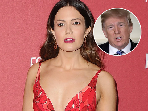 Mandy Moore 'Baffled' by Trump's 'Shameful' Speech About Shooting