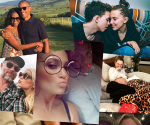 Hollywood Celebrated Valentine's Day with PDA, Engagements & Baby News
