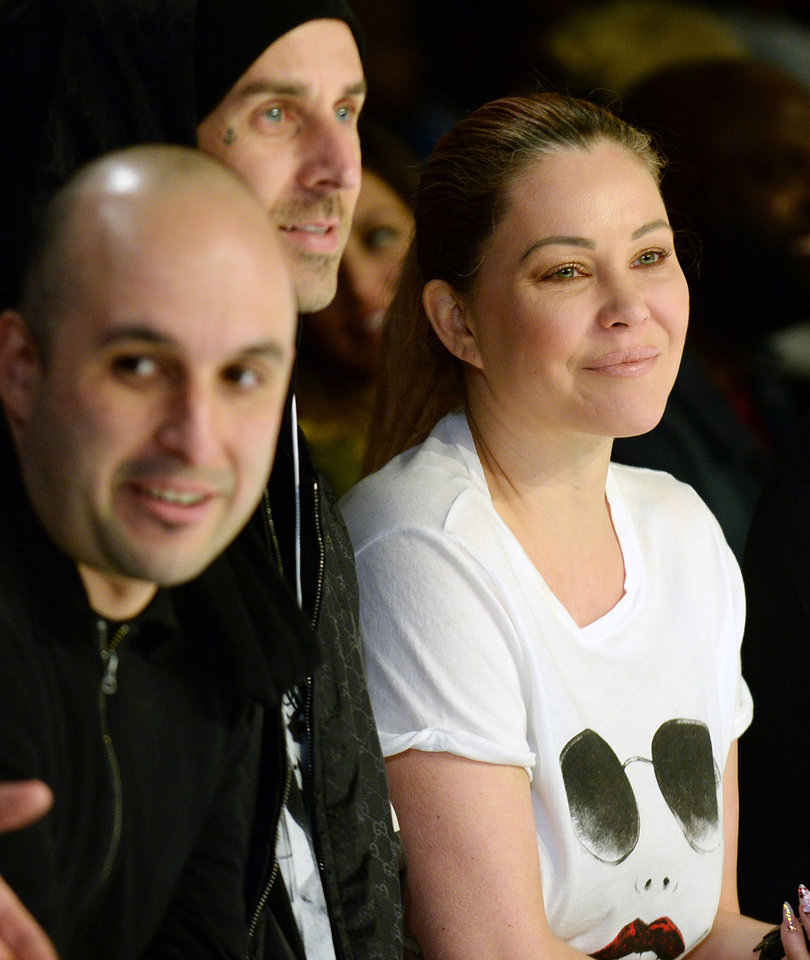 Travis Barker & Shanna Moakler Reunite to Watch Kids Rock the Runway