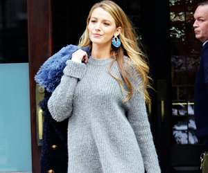 Blake Lively Gives Us 'Gossip Girl' Vibes and Her Daughter Has the Best Reaction