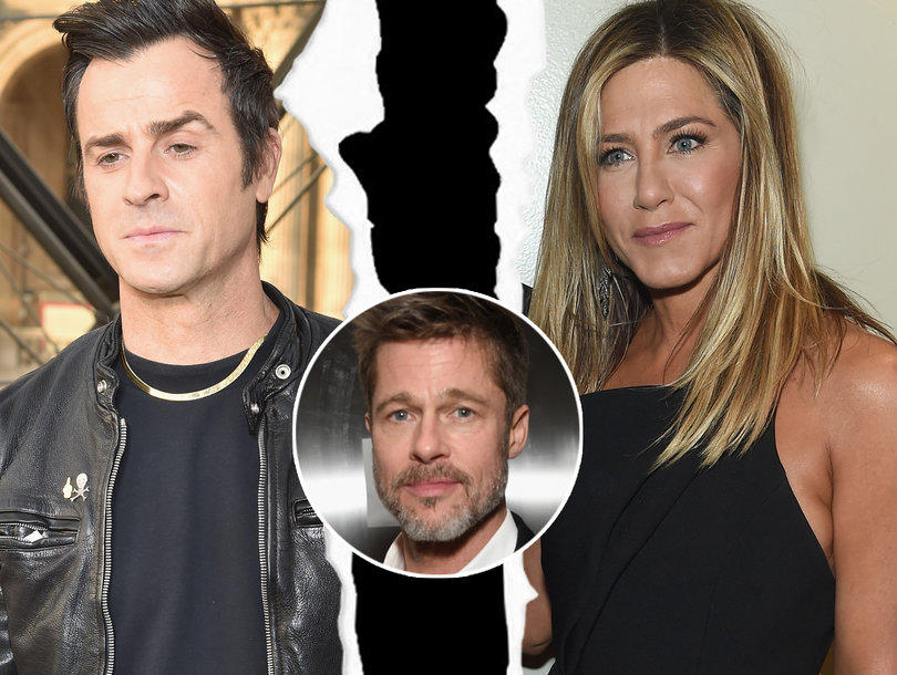 Everyone's Tweeting About Brad Pitt After Jennifer Aniston And Justin Theroux Split