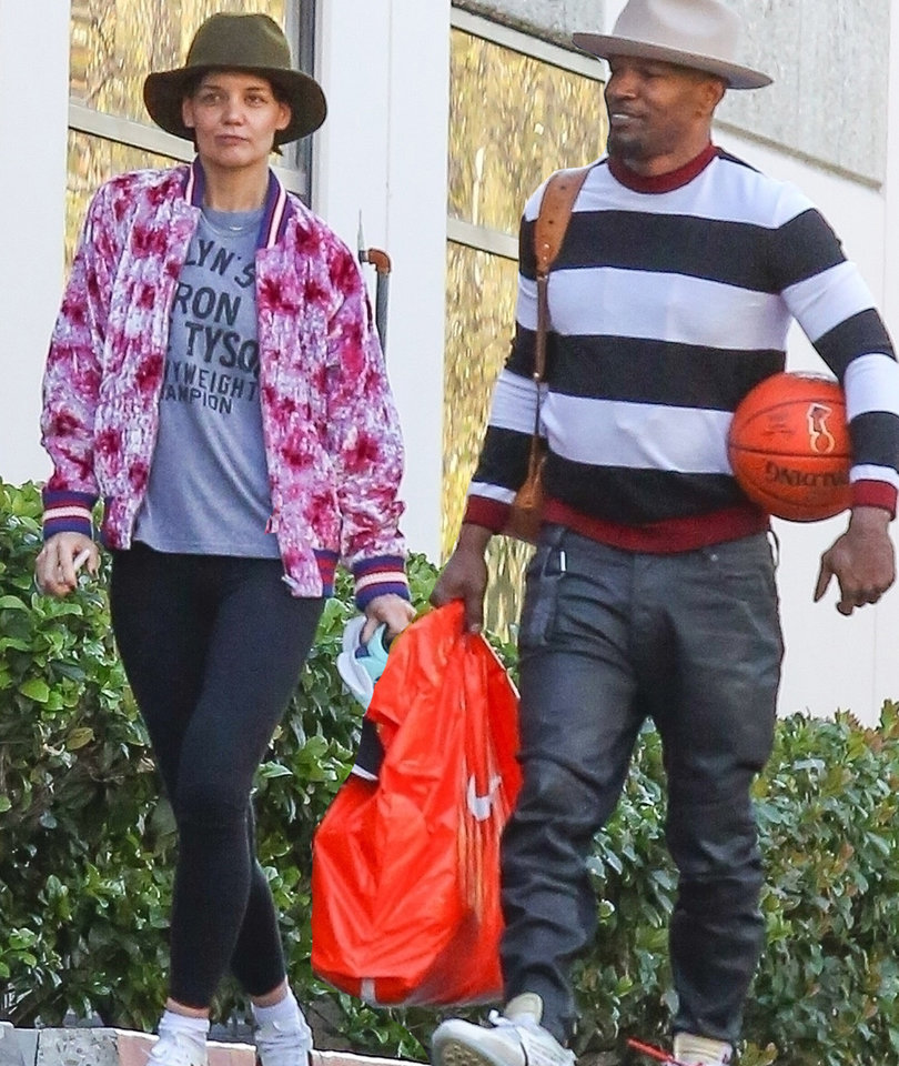 Katie Holmes and Jamie Foxx Pictured Spending Valentine's Day Together
