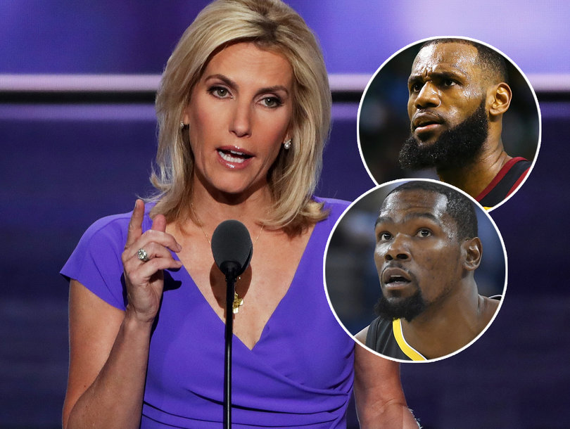 Ellen Pompeo Slams Laura Ingraham For Telling LeBron and Kevin Durant to 'Shut Up and Dribble'