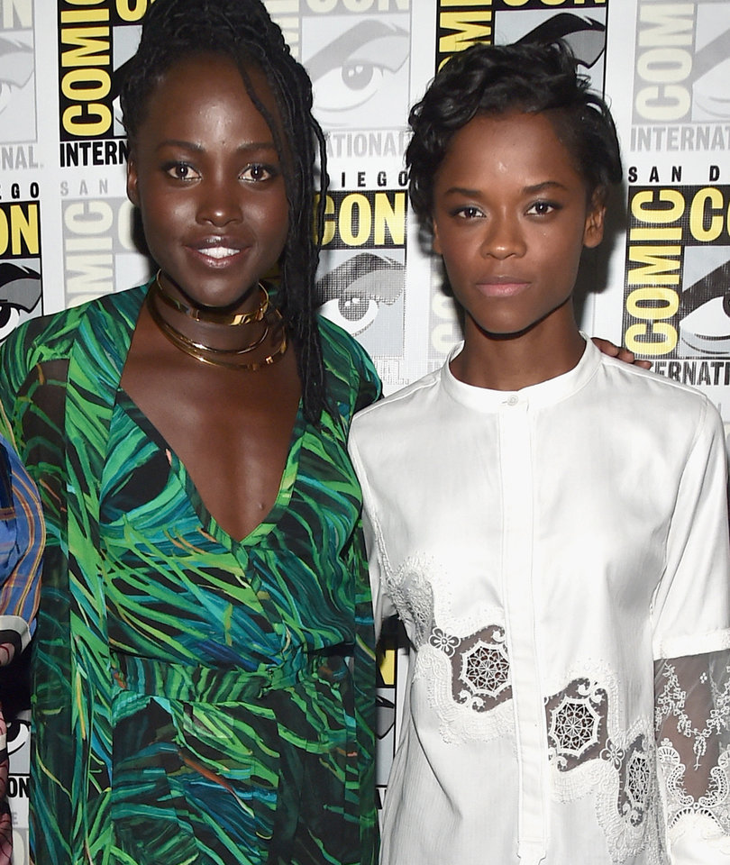 Lupita Nyong'o Spits Out Beastly 'Black Panther' Freestyle