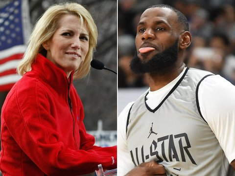 LeBron Fires Back at Laura Ingraham: 'I Will Not Shut Up and Dribble'