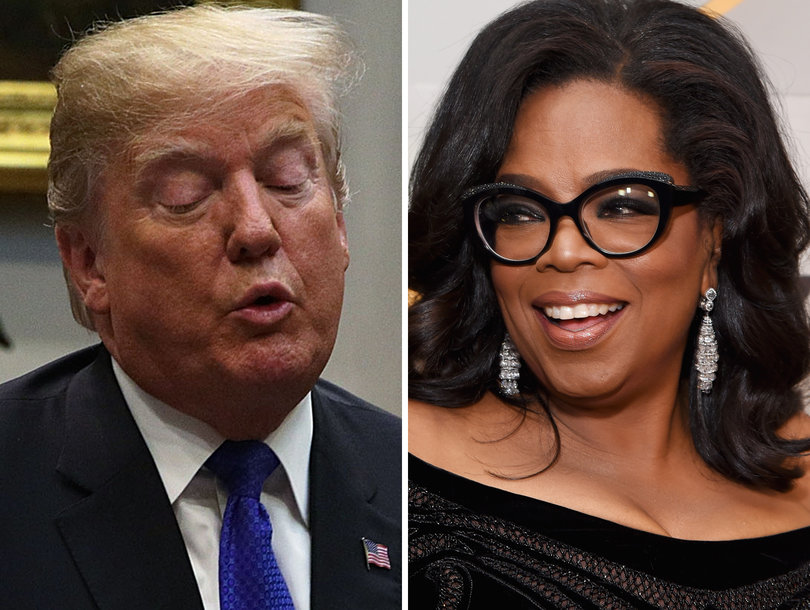 Hollywood Rushes to Oprah's Defense After Trump Slams Her as 'Very Insecure'