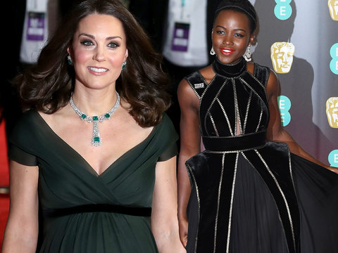 British Academy Film Awards 2018 -- All the Red Carpet Looks