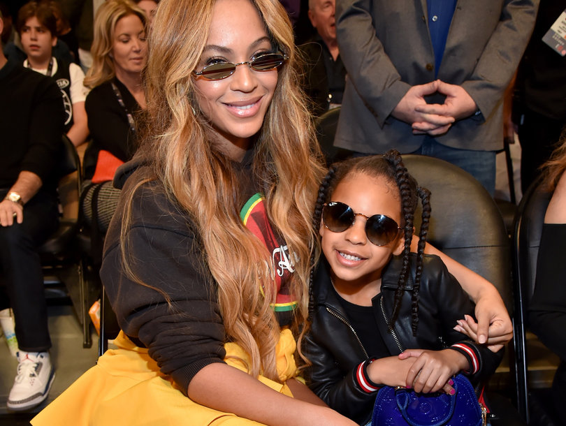 Blue Ivy Steals the Spotlight at NBA All-Stars Game