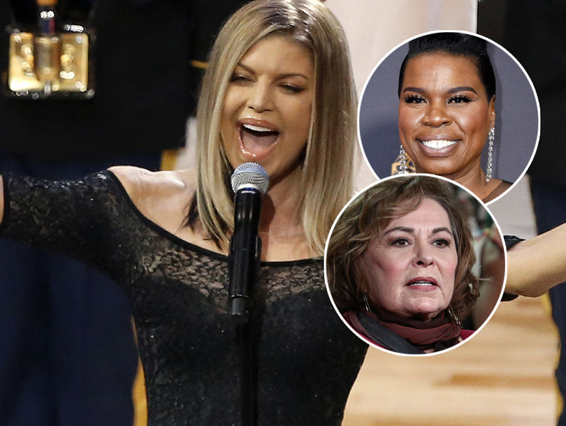 Hollywood and Beyond Ridicules Fergie's National Anthem at NBA All-Star Game