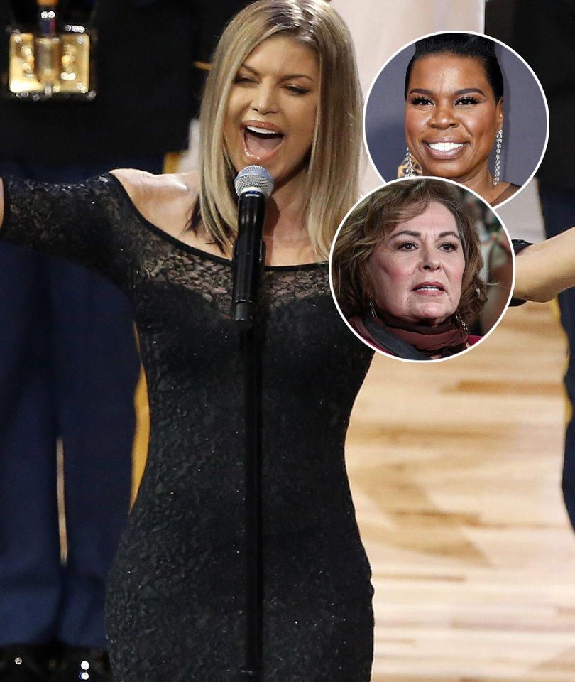 Hollywood and Beyond Ridicules Fergie's National Anthem