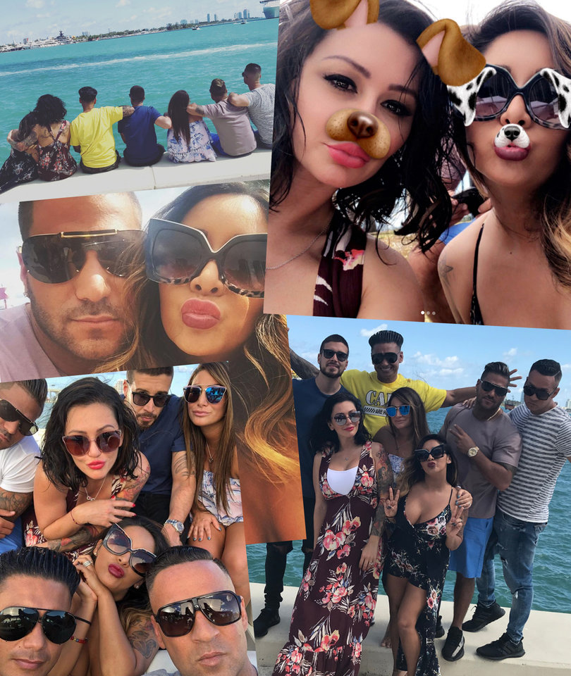 'Jersey Shore Family Vacation' Cast Gives Us Life as Filming Wraps