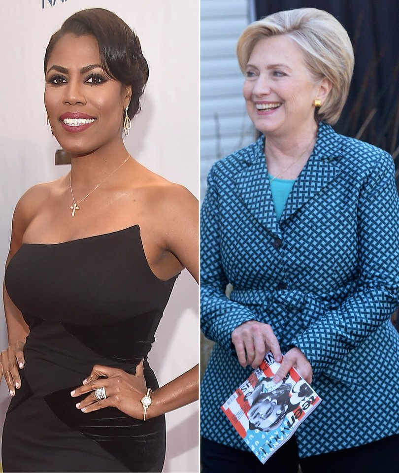 Omarosa Praises 'Exceptional' Hillary Clinton on 'Celebrity Big Brother'