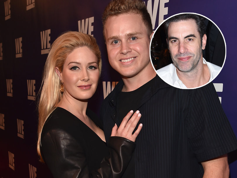 Heidi Montag and Spencer Pratt Don't Fall for 'Borat' Creator Sacha Baron Cohen's Latest Prank