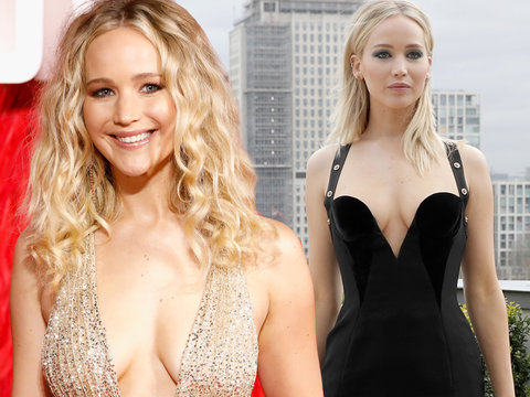 Jennifer Lawrence is Straight Off the Runway During 'Red Sparrow' Press Tour