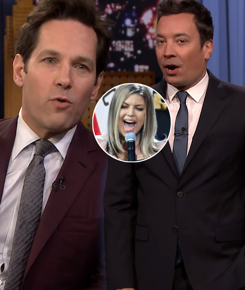 Fallon Rips Fergie's National Anthem in 5-Minute 'Tonight Show'