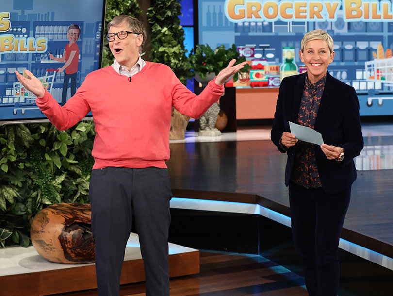 Bill Gates Proves on 'Ellen' That Rich People Have No Idea How Much Groceries Cost