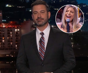 Jimmy Kimmel Takes Shot at Fergie's Risky National Anthem