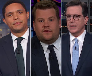 Late-Night Hosts Get Serious to Side With Parkland Florida Shooting Survivors
