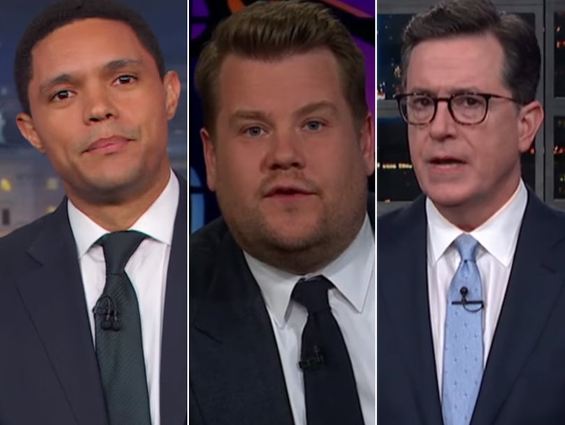 Late-Night Hosts Get Serious to Side With Parkland Florida Shooting Survivors: 'You Can't Vote If You're Over 18'