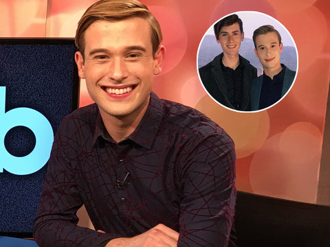 Tyler Henry Says Boyfriend's Late Grandfather 'Hooked Us Up'