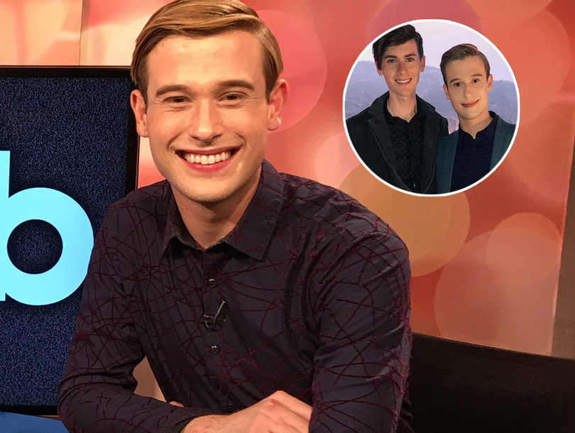 Tyler Henry Says Boyfriend's Late Grandfather 'Hooked Us Up From the Other Side'