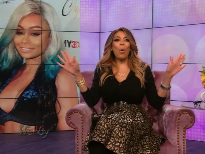 Wendy Williams Calls Blac Chyna Sex Tape 'Lazy,' 'Weak' and Rips Rob Kardashian, Too