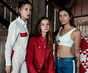 Paris Jackson, Millie Bobby Brown Stun in New #MYCALVINS Campaign