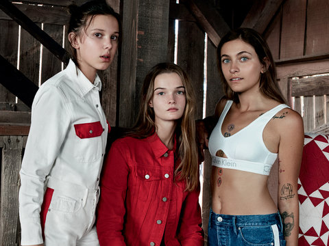 Paris Jackson, Millie Bobby Brown Stun In New Calvin Klein Campaign