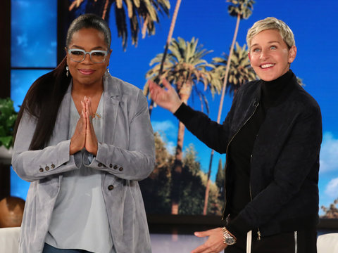 Oprah Literally Shrugs Off Trump's 'Insecure' Twitter Taunt